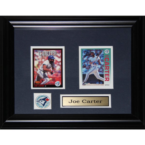 Joe Carter Toronto Blue Jays 2-card Frame