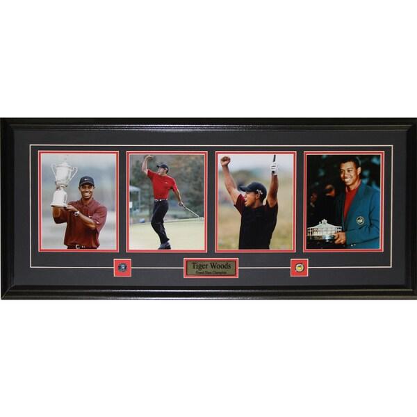 Tiger Woods Grand 4 Photograph Frame