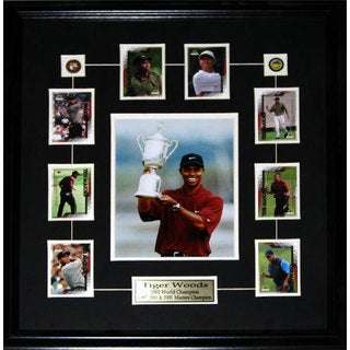 Tiger Woods 8x10-inch with Cards Frame
