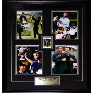 Mike Weir Career 4 Photo Square Frame