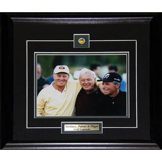 Jack Nicklaus Arnold Palmer and Gary Player 8x10-inch Frame