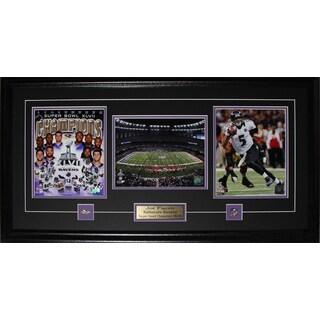 Joe Flacco Baltimore Ravens Superbowl Xlvii 3 Photo Frame