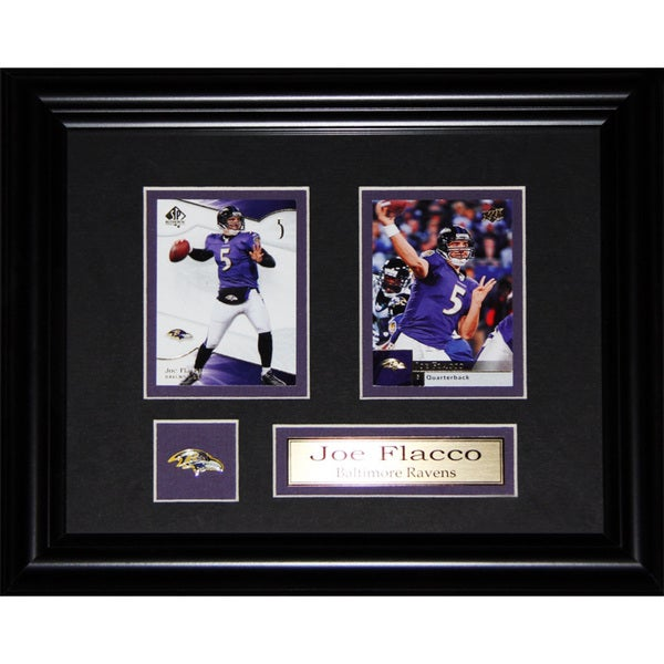 Joe Flacco Baltimore Ravens Nfl 2-card Frame