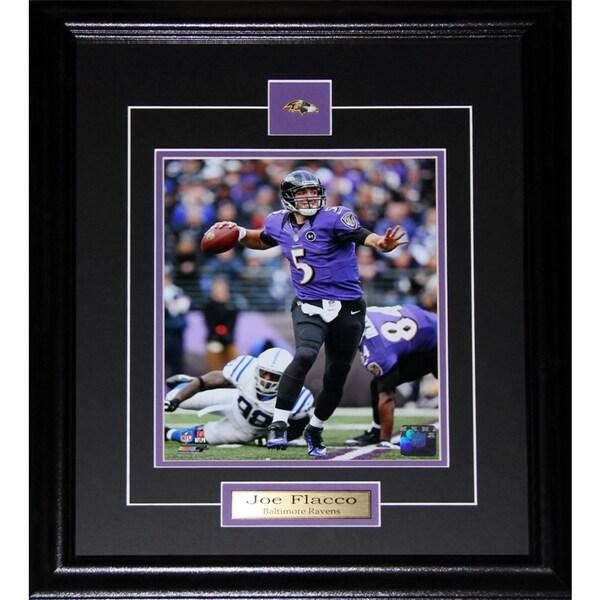 Joe Flacco Baltimore Ravens 8x10-inch Frame