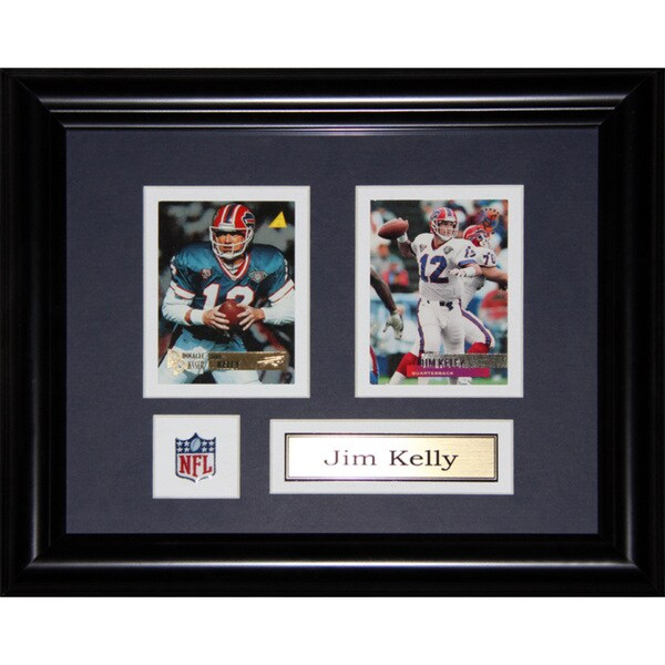 Jim Kelly Buffalo Bills 2-card Frame