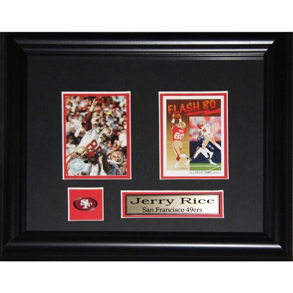 Jerry Rice San Francisco 49ers 2-card Frame