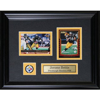 Jerome Bettis Pittsburgh Steelers 2-card Frame