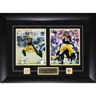 Hines Ward Pittsburgh Steelers Signed 2-photo Frame