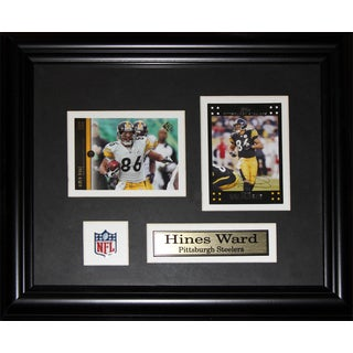 Hines Ward Pittsburgh Steelers 2-card Frame
