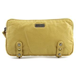 Roxy Women's 'Going Pro' Yellow Faux Leather Handbag