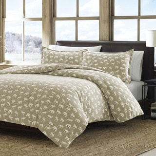 Eddie Bauer Buckhead Ridge Flannel Duvet Cover Set