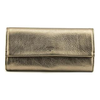 Fossil Women's Leather Wallet/Passport Case