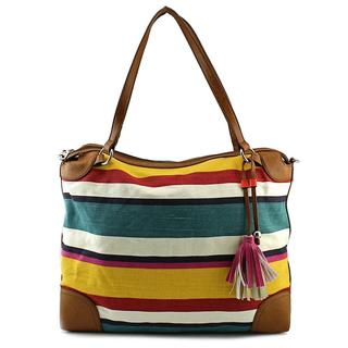 Relic Women's Capri Duffle Stripe Synthetic Handbag