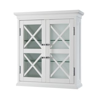 Grayson Wall Cabinet with two Doors by Essential Home Furnishings