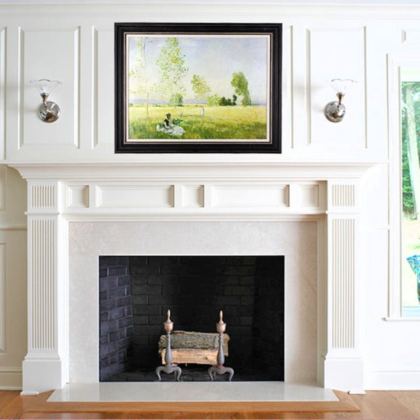 Claude Monet 'Summer' Framed Wall Art