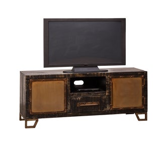 Hillsdale Furniture Bridgewater Black Wood Entertainment Unit