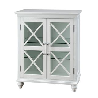 Grayson Floor Cabinet with 2 Doors by Elegant Home Fashions