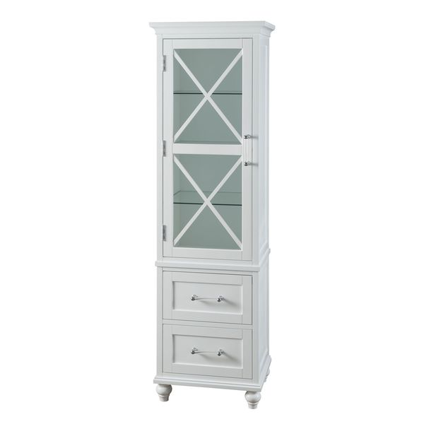 Linen Tower Bathroom Cabinets Storage