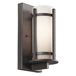 Kichler Lighting Camden Collection 1-light Anvil Iron Outdoor Wall Lantern