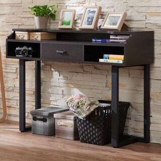 Furniture of America Tylene Modern Espresso Console Table