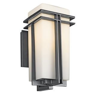 Kichler Lighting Tremillo Collection 1-light Black Outdoor Wall Lantern