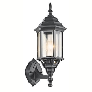 Kichler Lighting Chesapeake Collection 1-light Black Outdoor Wall Lantern