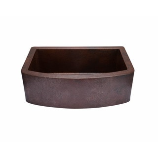 Hahn Copper CO003 Copper 21.88 Inch X 33 Inch X 10 Inch Curved
