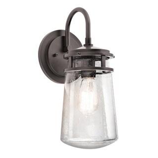 Kichler Lighting Lyndon Collection 1-light Architectural Bronze Outdoor Wall Lantern
