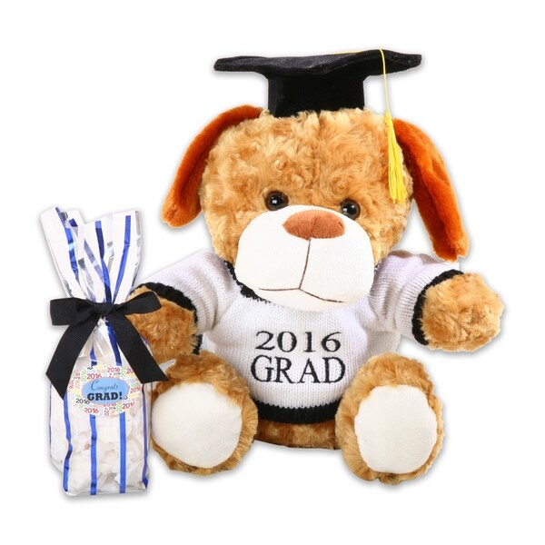 Alder Creek Gifts 2016 Graduation Dog with Grad Sweater
