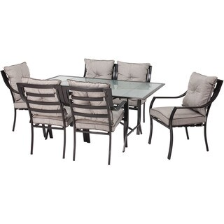 Hanover Outdoor Lavallette Grey 7-piece Outdoor Dining Set