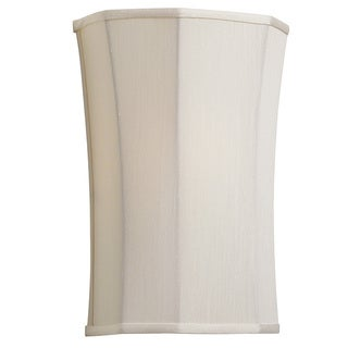 Dainolite Gina Ivory 1-light Wall Sconce