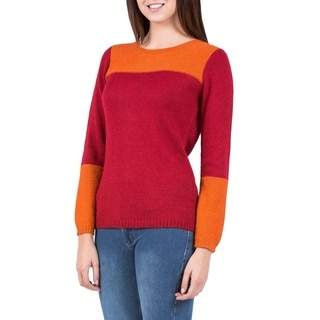 Alpaca Blend 'Andean Sunset' Sweater (Peru)