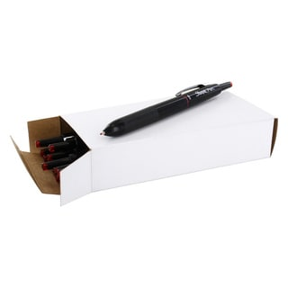 Sharpie Plastic Medium-point Red Ink Retractable Permanent Water-resistant Pen