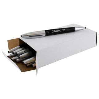 Sharpie Black Plastic Medium-point Porous Ink Pen