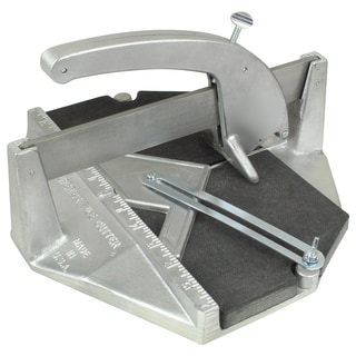"12"" x 12"" Tile Cutter with 6 Wheel Turret"
