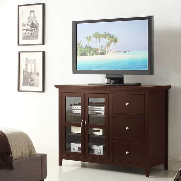 Convenience Concepts Designs2go Sierra Highboy Tv Stand