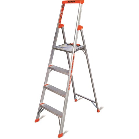 Little Giant Flip-N-Lite Model 6 Lightweight Aluminum Step Ladder