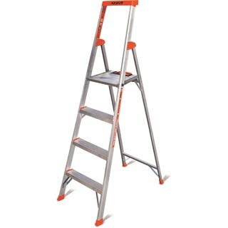 Little Giant Flip-N-Lite Model 6 Aluminum 4-step Ladder|https://ak1.ostkcdn.com/images/products/12008192/P18885086.jpg?impolicy=medium