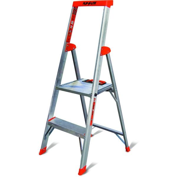 Little Giant Flip N Lite Model 4 Lightweight Aluminum Step Ladder