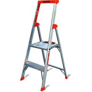 Little Giant Flip-N-Lite Model 4 Lightweight Aluminum Step Ladder
