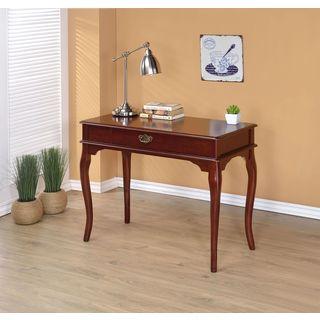 Gracewood Hollow Gabriel Simple Classic Wood Desk