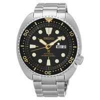 Seiko Men's SRP775 X Prospex Stainless Steel Automatic Diver Watch with a Uni-Directional Bezel