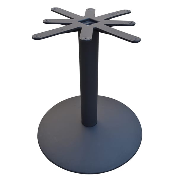Shop JI Bases Cast Iron Inch Domed Round Restaurant Table Base - Cast iron restaurant table bases