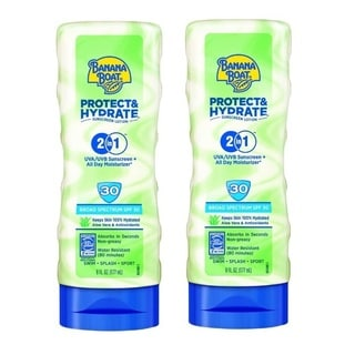 Banana Boat Protect and Hydrate 6-ounce SPF-30 Sunscreen