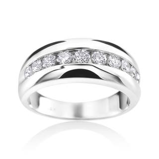 SummerRose 14k White Gold Diamond Mens Channel Wedding Ring|https://ak1.ostkcdn.com/images/products/12008653/P18885428.jpg?impolicy=medium