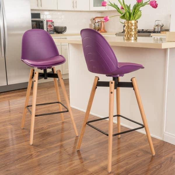 Fine Shop Aileen 30 Inch Barstool Set Of 2 By Christopher Creativecarmelina Interior Chair Design Creativecarmelinacom