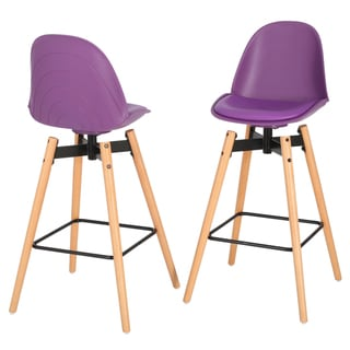 Aileen Barstool (Set of 2) by Christopher Knight Home