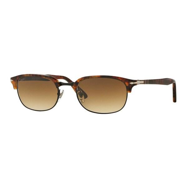 99899036a6cb7 Shop Persol Men s PO8139S 108 51 52 Havana Plastic Pilot Sunglasses ...