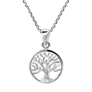 Handmade Assyrian Tree of Life .925 Sterling Silver Necklace (Thailand)