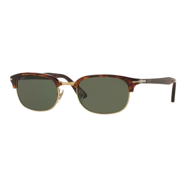 765ed499af3e0 Shop Persol Men s PO8139S 24 31 52 Havana Plastic Pilot Sunglasses ...
